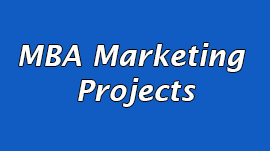 mba marketing projects